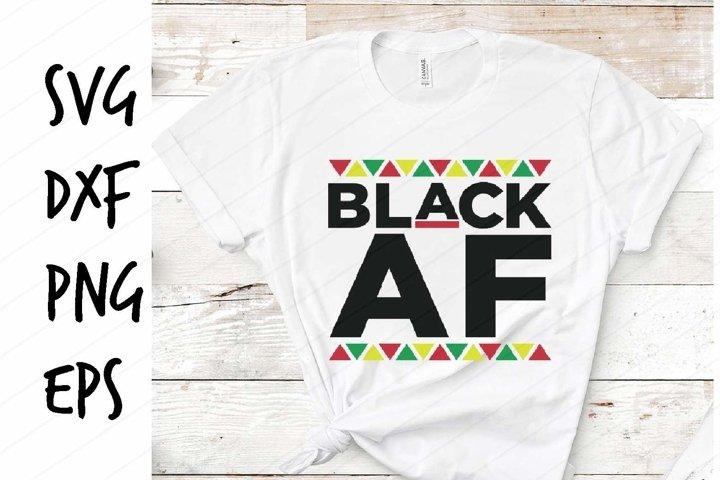 Black AF SVG