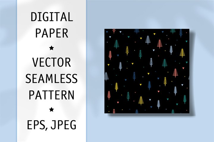 Fabric Seamless Pattern. Digiral Paper. Scrapbook Paper.
