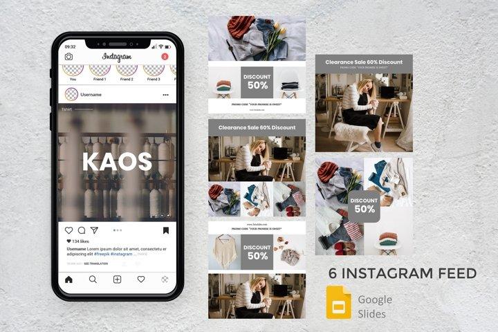 Instagram Feed - kaos