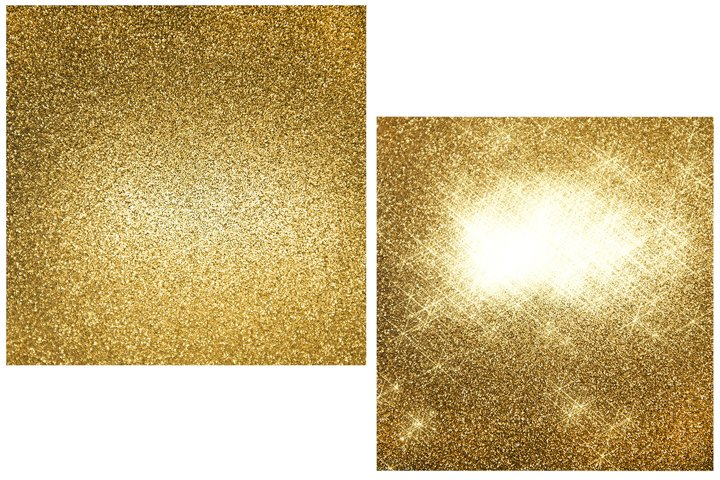 Abstract golden shiny lights background. Blurred stars