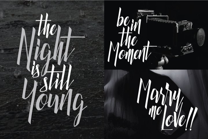 Luxurious Line Typeface - Free Font of The Week Design3