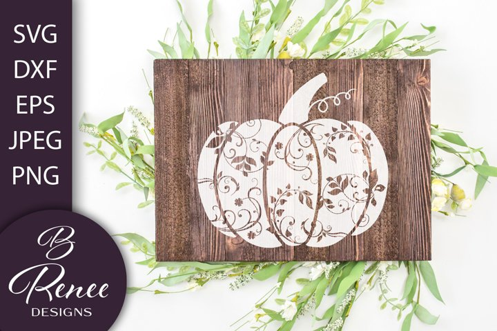 Fall Decorative Pumpkin Design