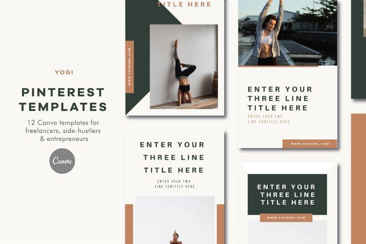Pinterest Templates | Canva | Yogi