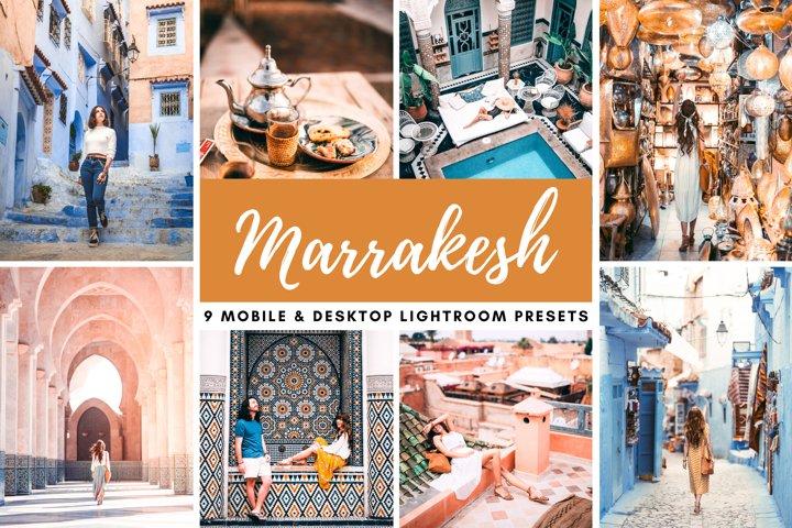 Marrakesh Bright Mobile & Desktop Lightroom Photo Presets