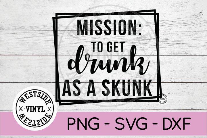 drunk skunks