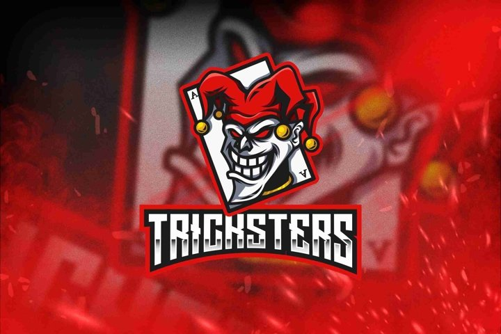 Tricksters Esport Logo Template