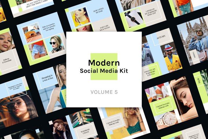Modern Social Media Kit Vol. 5