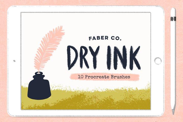 Dry Ink Procreate Brushes