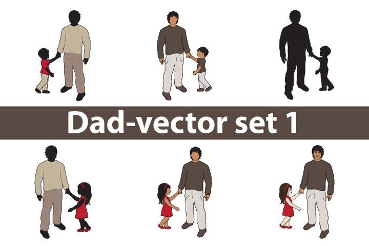 Dad-vector set 1
