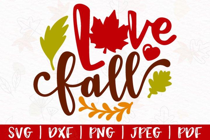 Love Fall svg, Fall svg, Hello Fall svg, Autumn svg, dxf