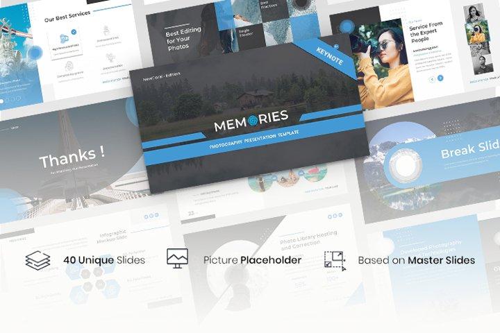 Memories - Photography Keynote Template