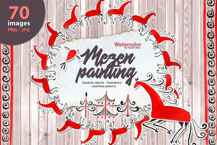 Mezen painting set