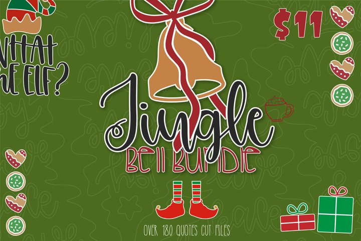 The Jingle Bell SVG Bundle | Christmas Bundle