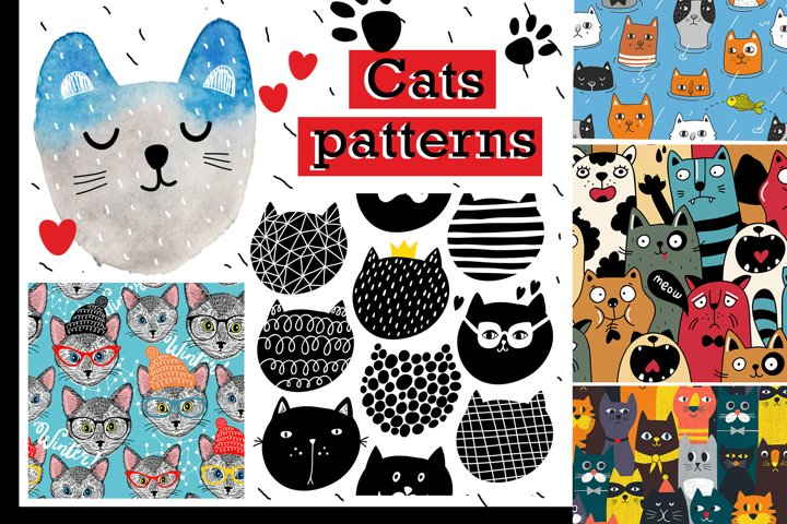 Six amazing cat patterns