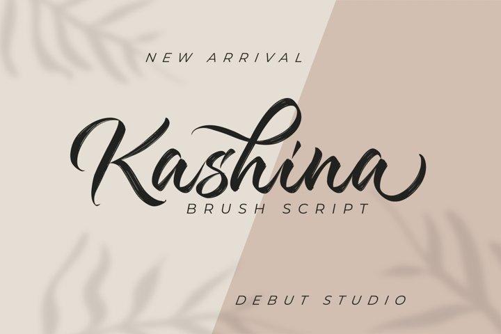Kashina Brush Script