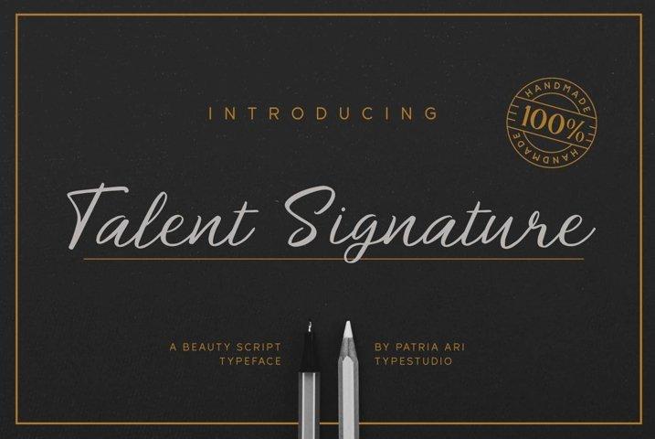 Talent Signature