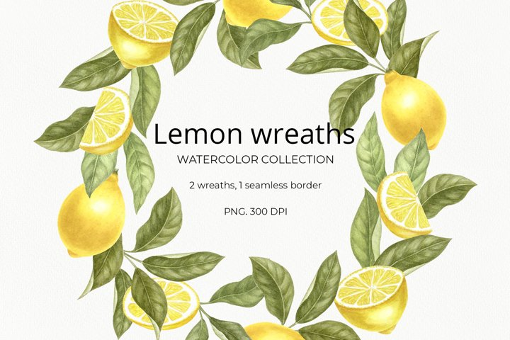 Lemon wreaths