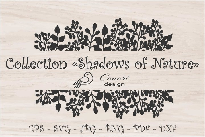 Shadows of nature - design elements
