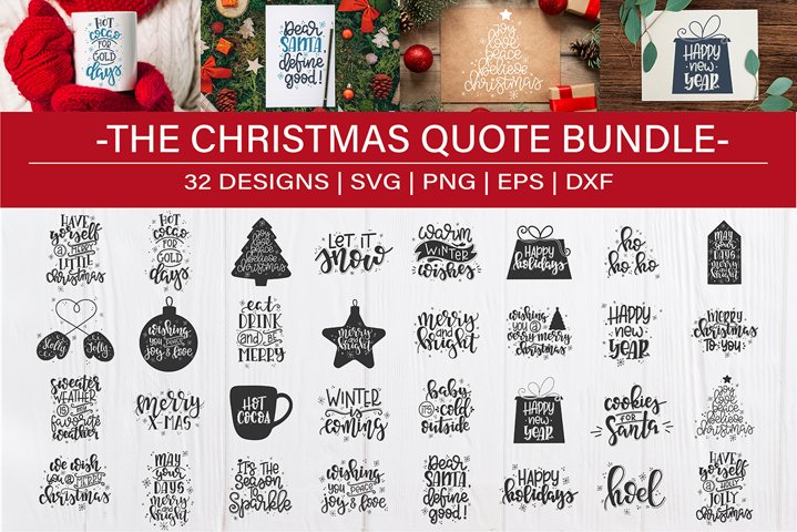 Christmas SVG Bundle design set