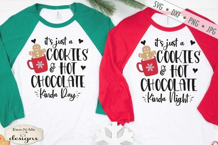 Cookies | Hot Chocolate | Christmas Winter | SVG DXF