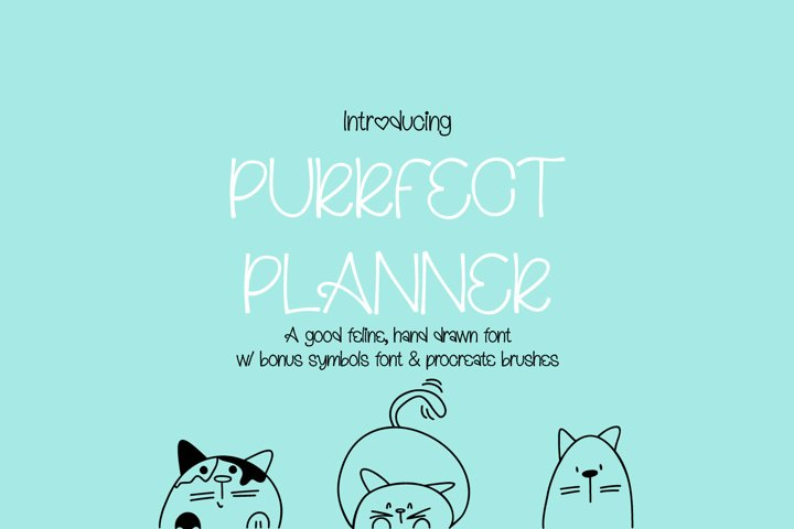 Purrfect Planner