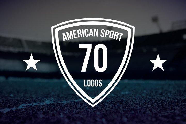 70 American Logo Sports example 1