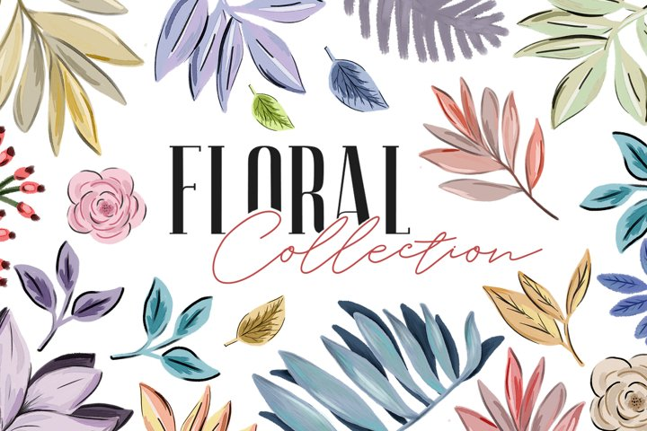 Floral Collection - graphic and patterns collection