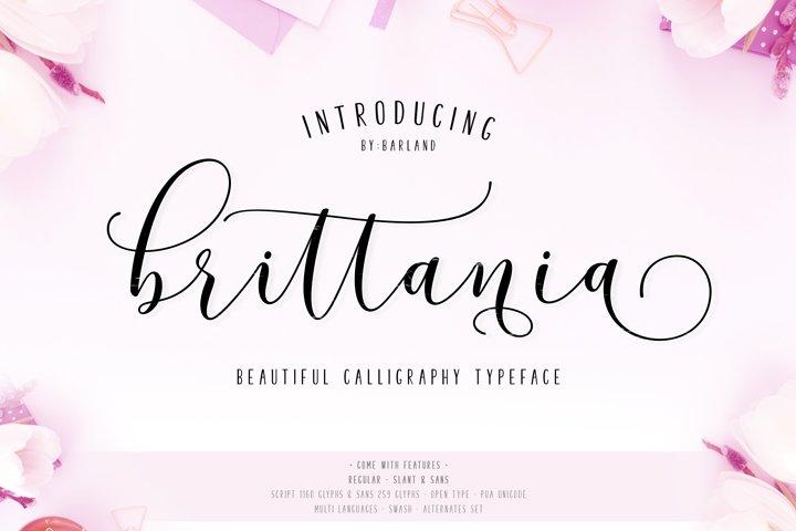 New! Brittania Script | Special Price!