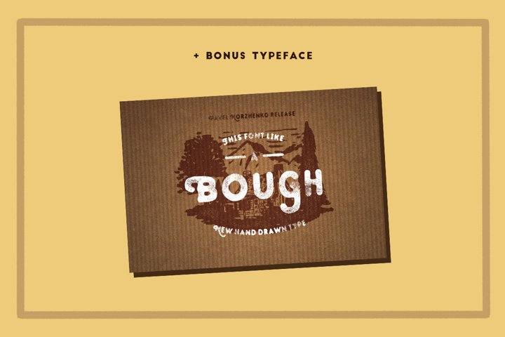STOUT Typeface - Free Font of The Week Design3