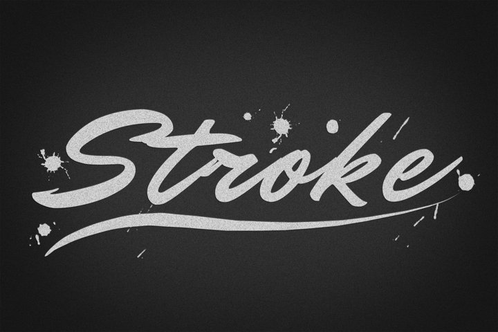 Stroke Editable Photoshop Text Style Effect