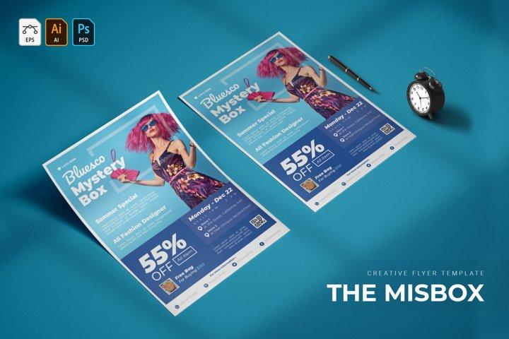 Misbox | Flyer