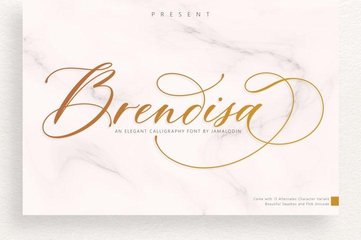Brendisa Script