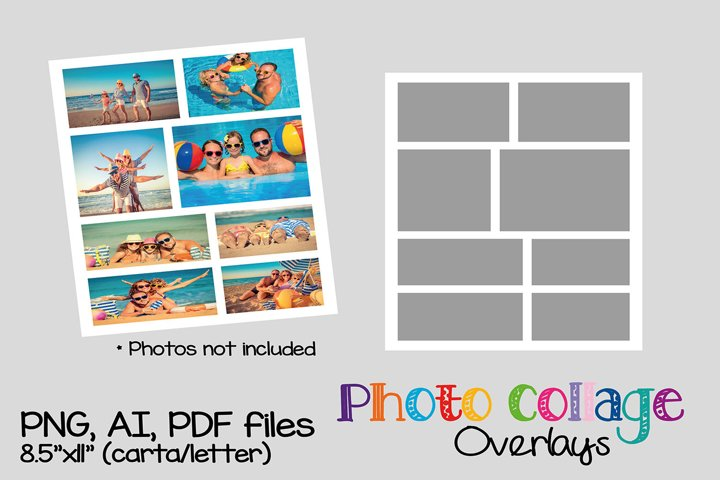 15 Photo collage templates bundle