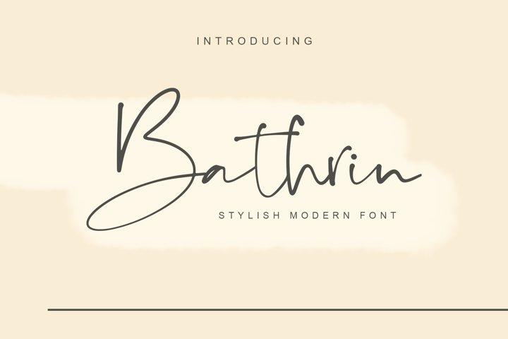 Bathrin