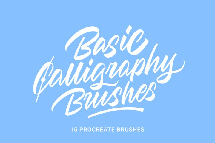 Basic Calligraphy Brushes
