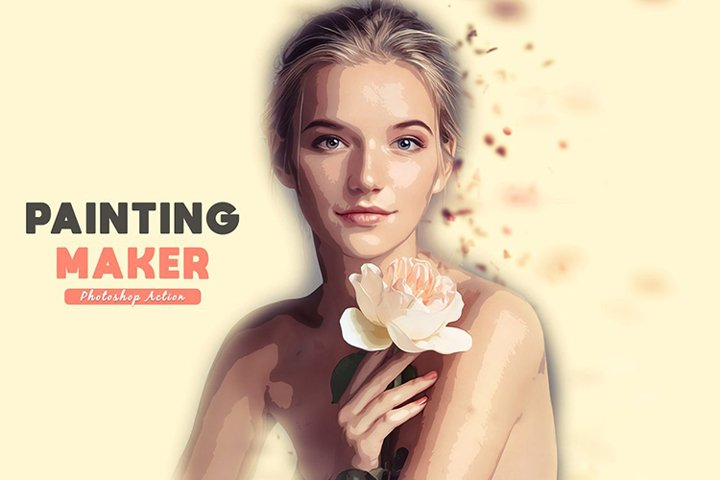 Painting Maker Photoshop Action