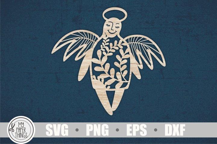 Angel svg, Christmas angel svg