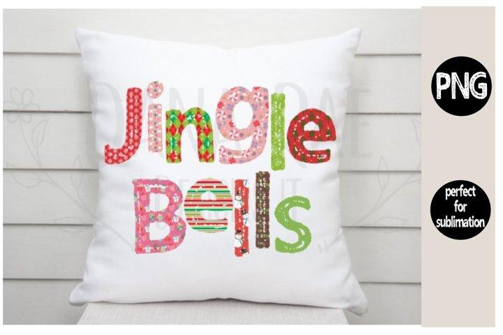 Jingle Bells patterned PNG design