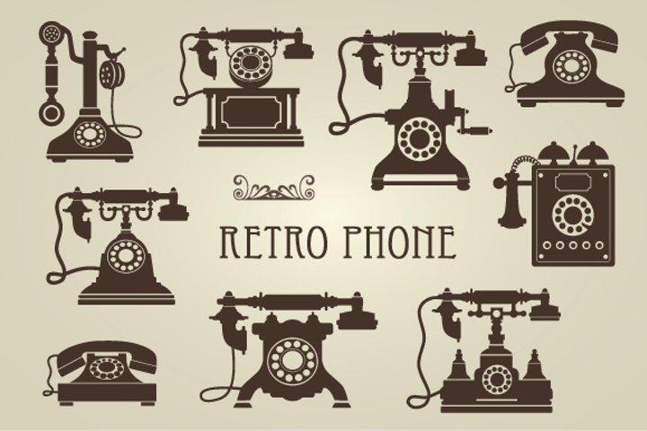 Vintage Retro Phones