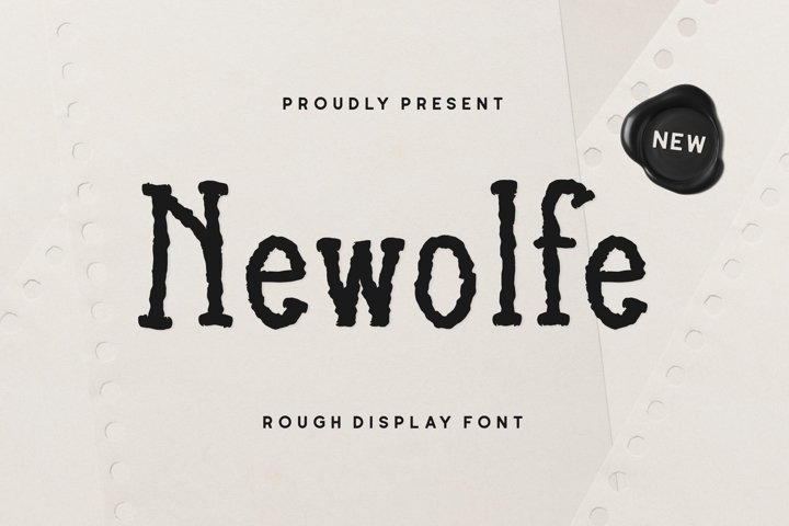 Newolfe Display Font