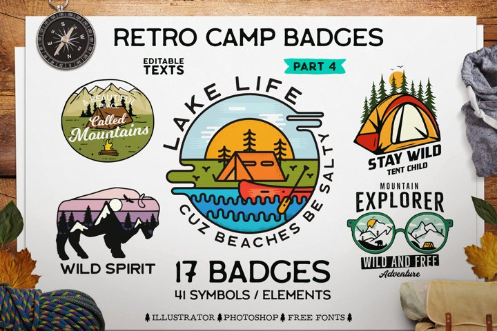 Camping SVG Bundle! Travel Cricut Adventure Logo Badge Patch