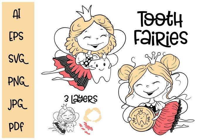 Tooth fairies svg