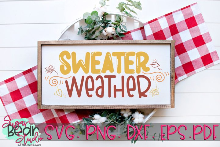 Sweater Weather - A Fall SVG