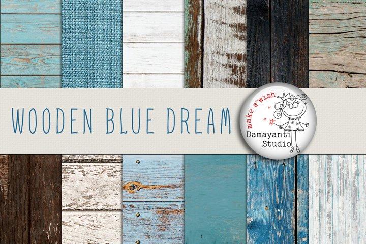 Wooden blue dream