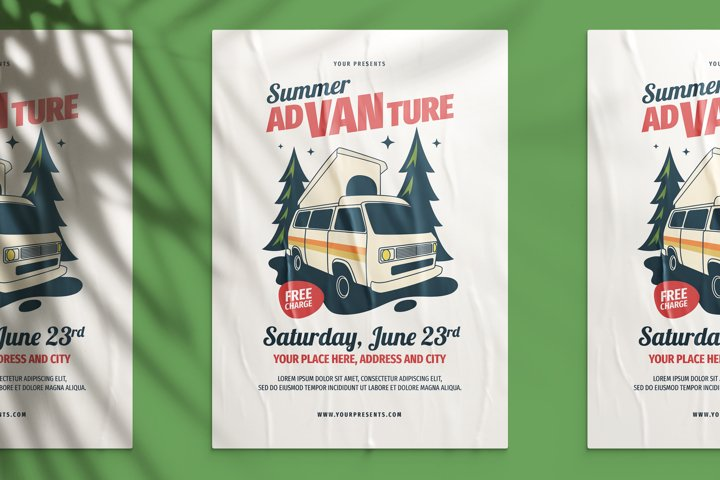 Summer Advanture Flyer