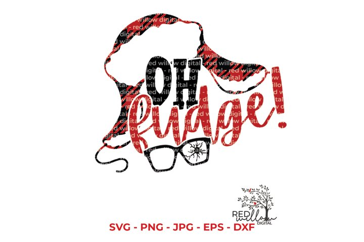 Oh Fudge! Christmas SVG