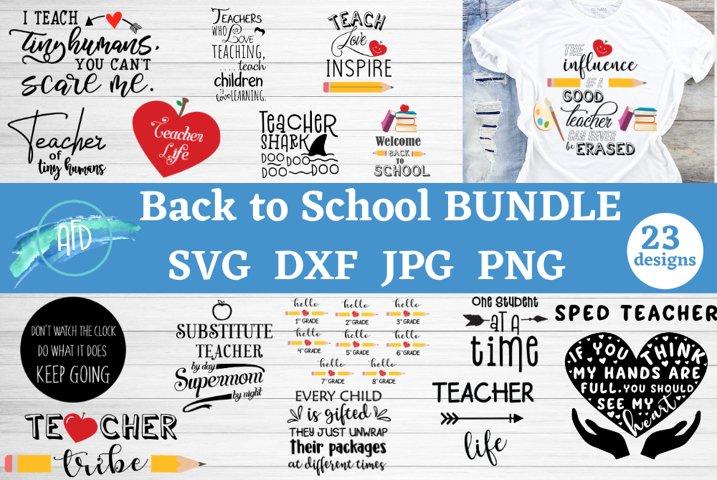 Back to school svg bundle, Teacher appreciation svg, School