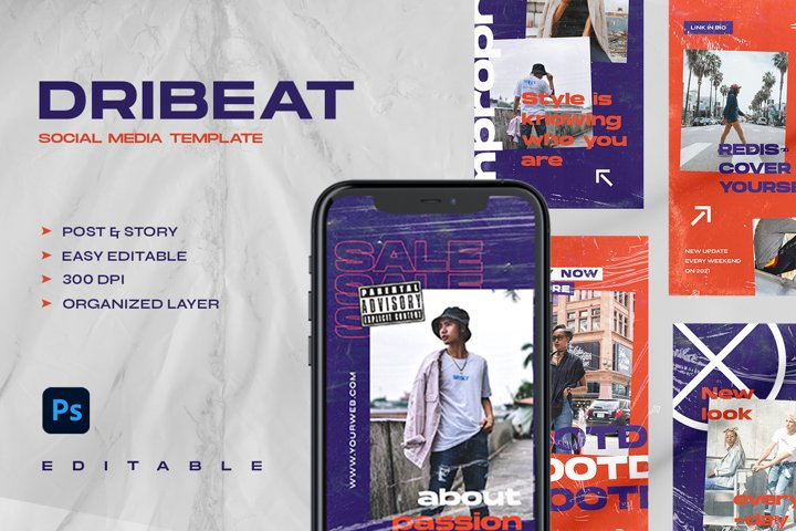 DRIBEAT - Instagram Stories & Post