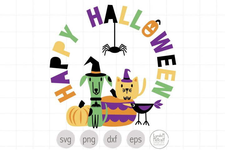 Happy Halloween Layered Cut File