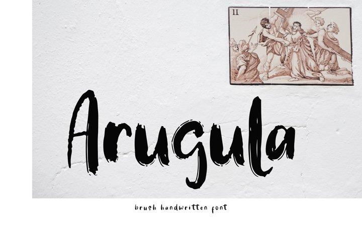 Arugula Brush Handwritten Font